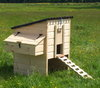 "Cambrian Chicken Coop with 18"" Stand"