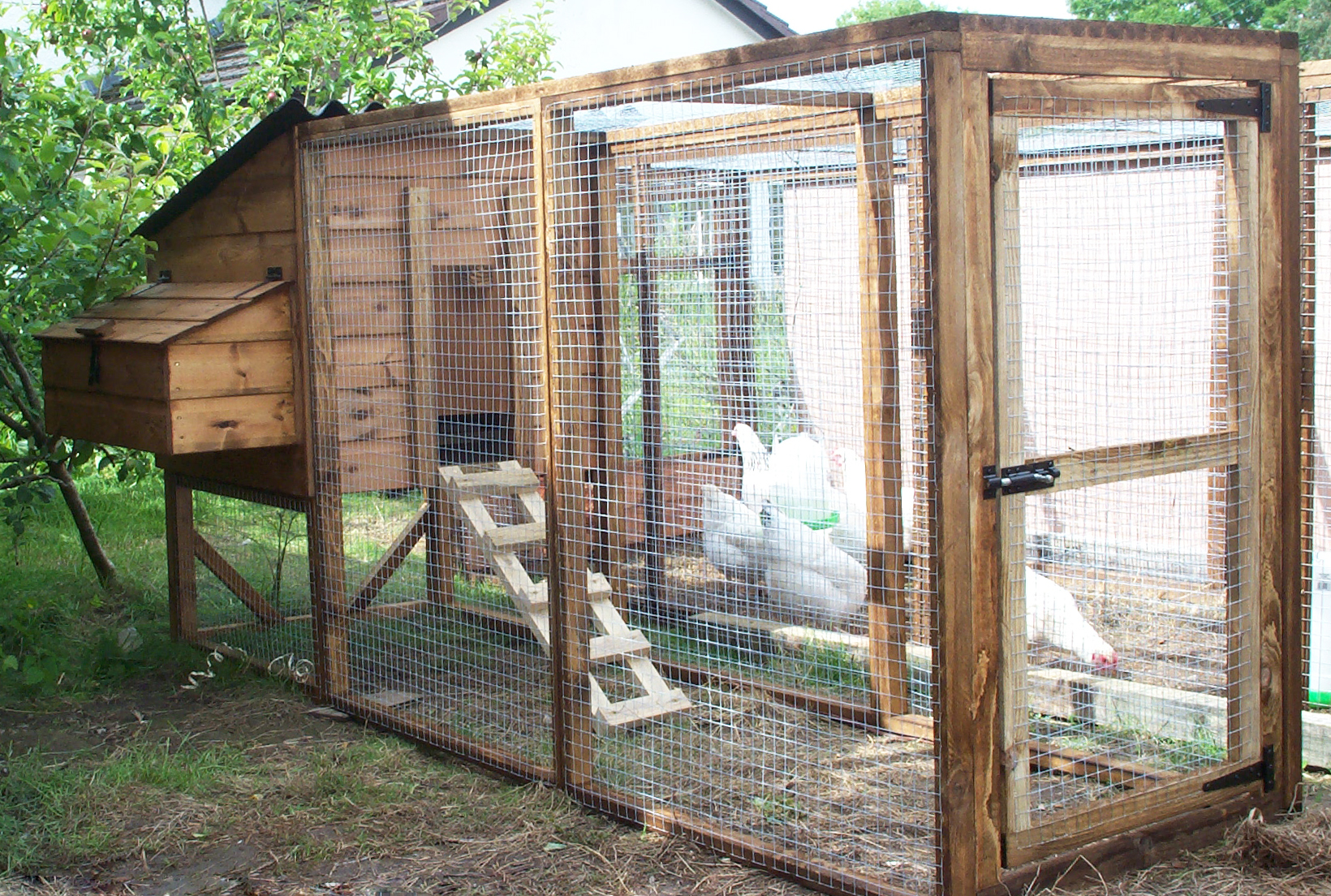 Farm Chicken Rowlinson Chicken Coop Plans