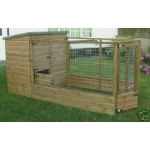 Dog Kennel & Run