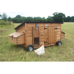 Preseli Chicken Coop With Wheeled Base